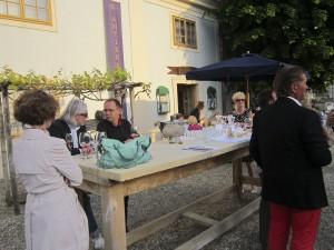 Antikes und Wein auf Schloss Halbturn