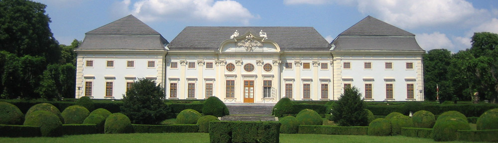 Barockjuwel Schloss Halbturn mit Park