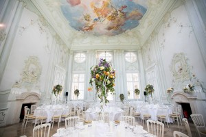 Hochzeit Schloss Halbturn Freskensaal