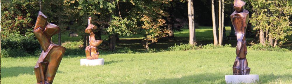 Skulpturenpark im Schloss Halbturn