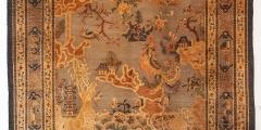 3_Wandteppich aus dem Kaiserpalast Peking aus dem Zimmer der Kaiserin, in welchem Kaiser Kangxi (1654-1722) geboren worden ist. Leihgabe Professor Kaminski