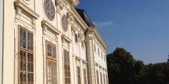 Vorderansicht Schloss Halbturn
