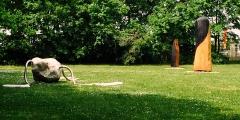 Skulpturen im Park von Schloss Halbturn