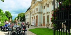 Oldtimer Rundfahrt Schloss Halbturn