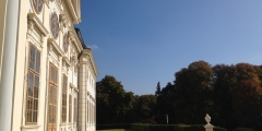 Seitenansicht Schloss Halbturn