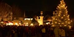 Weihnachtsmarkt Schloss Halbturn - Fotocredit BGLD Tourismus
